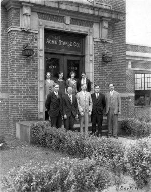 Acme Staple Haddon St Camden NJ September 1930
