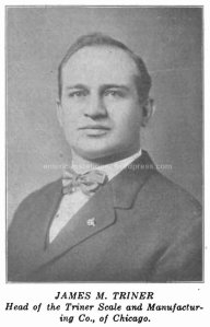 James M Triner 1913 photo wm