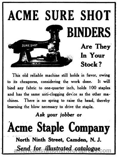 acme sure shot 1912 ad sm wm