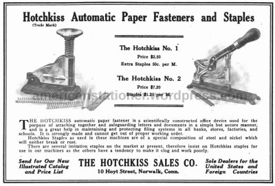 magazine ad from 1920