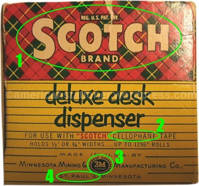 Scotch C20 Tape Dispenser Box end circled sm wm