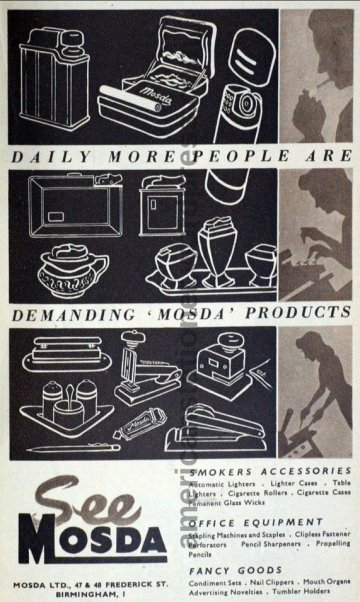 1949 British Industries Fair Ad
