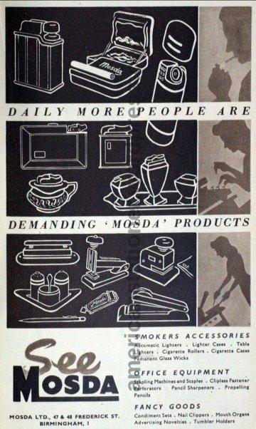 1949 British Industries Fair Ad