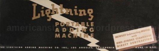 lightning adding machine box v2 wm sm