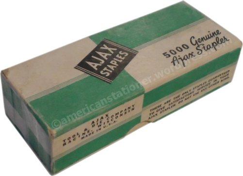 Ajax Staple Box wm sm