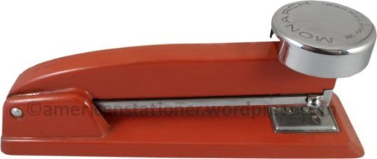 monarch stapler red wm sm