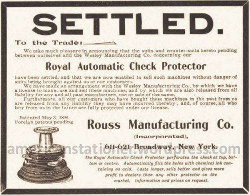 1900 American Stationer Settled ad wm sm