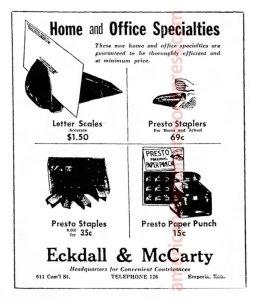 1947 Emporia Gazette Presto Ad wm sm