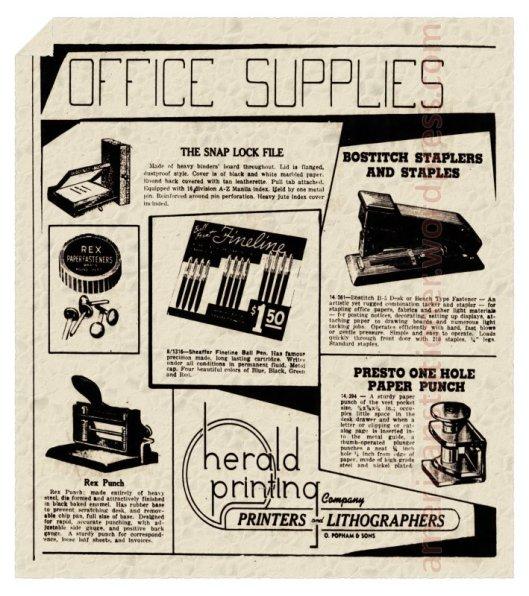 1952 Missouri Herald Presto Ad wm sm