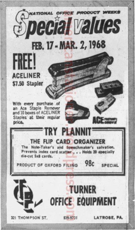 1968 Latrobe Bulletin ad wm sm