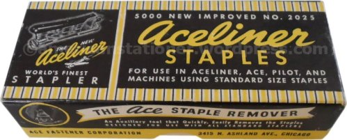Aceliner Box of Staples 1940s wm sm
