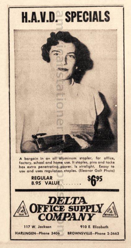 1952 Apr 6 Morning Star Sun Ad wm sm